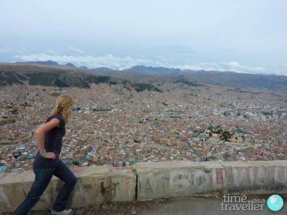 La Paz Bolivia lookout