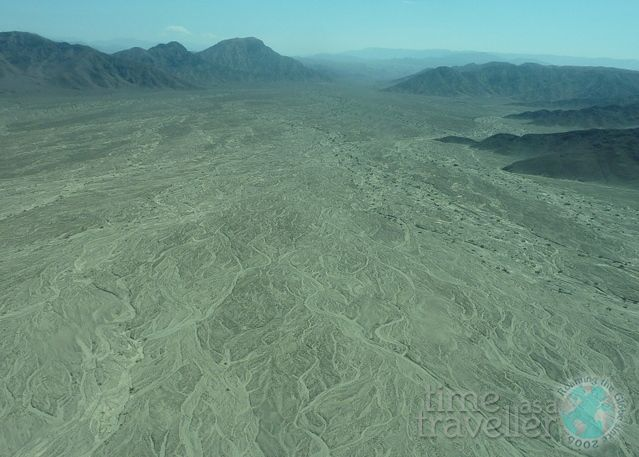 Nazca Lines Aerial View, Peru