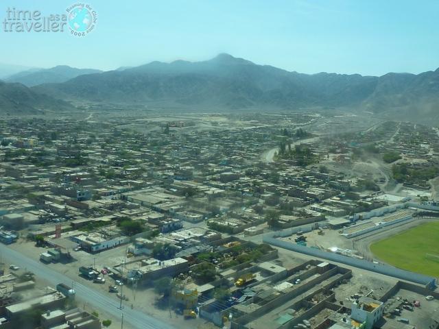 Aerial view Nazca Peru