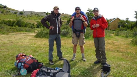 Torres del Paine, the guys