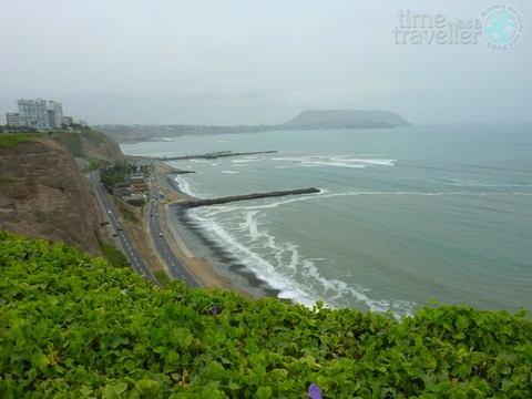 Mira Flores Coastline, Lima Peru