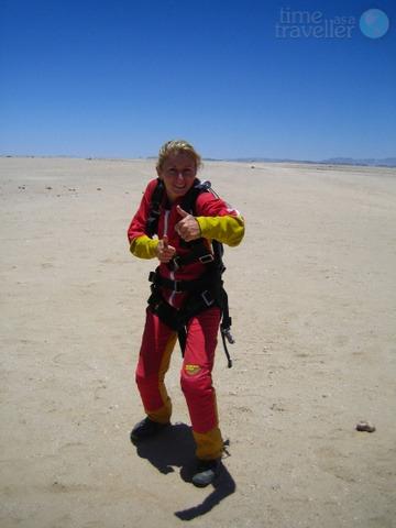 Skydiving, Swakopmund Namibia