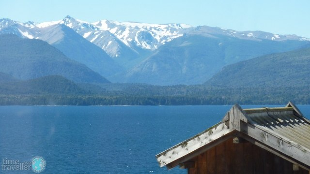 View of the lake at Bariloche, Argentina