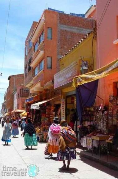 Copacabana Town, Bolivia