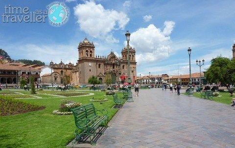 Town Square, Cuzco peru