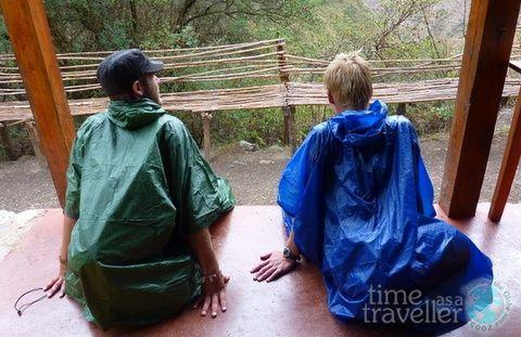 Inca Trail rain , Peru