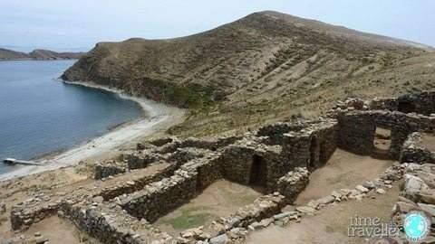 Isla del Sol ruins, Bolivia