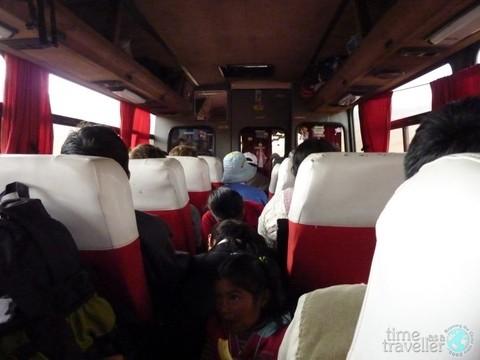 Bus - Potosi, Bolivia
