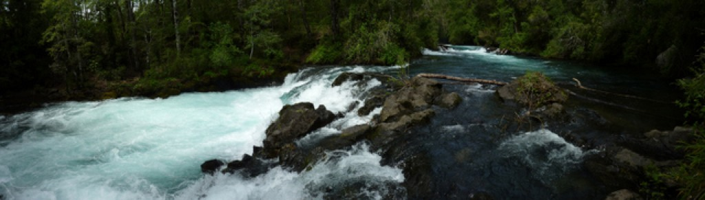 Waterfalls, Pucon Chile