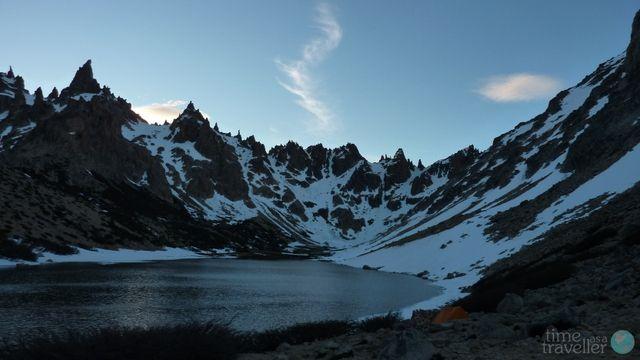 Lake at Refugio Frey