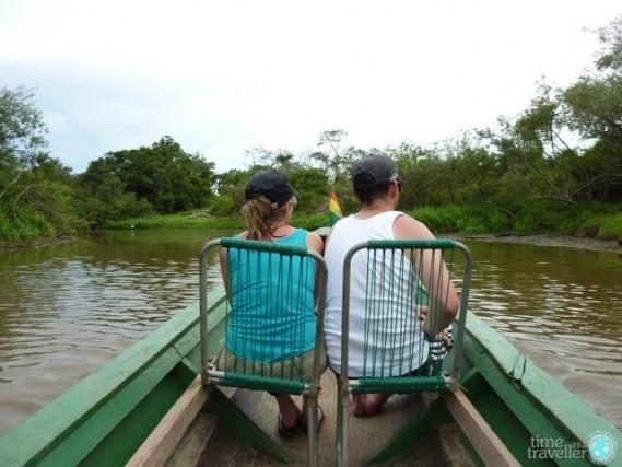 rurrenabaque canoe,  bolivia