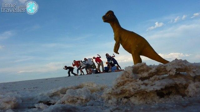 Salt Flats Dinosaur, Bolivia