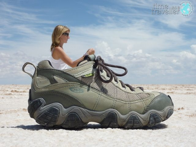 Salt Flat Shoe, Bolivia