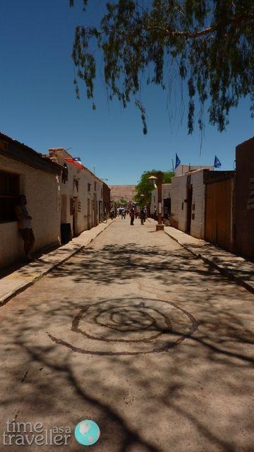 San Pedro de Atacama Street, Chile