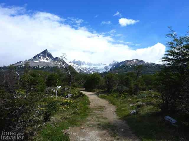 Mountain in Tierra del Fuego, Argentina